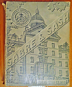 PENNSYLVANIA MILITARY COLLEGE 1943 Yearbook Chester PA 19013 WIDENER UNIVERSITY $29.99