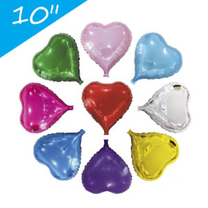 US Seller 18inch heart foil balloon 12pcs Party Wedding Birthday Baby Shower ...