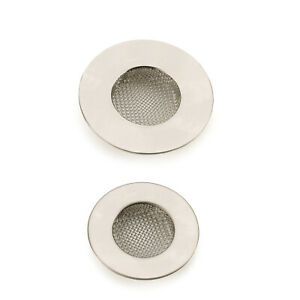 RSVP Endurance Stainless Steel Mesh Sink Strainers, Set of 2