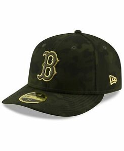 BOSTON RED SOX ARMED FORCES DAY 2019 NEW ERA HAT 5950 7 38 NEW CAMO BELLINGER