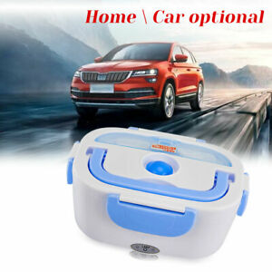 Portable Car Electric Lunch Box Food Heater Home Bento Boxes Warmer Container