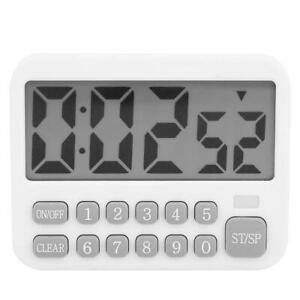 Electronic Timer Time Reminder Kitchen Kit Large Screen Electronic for Students