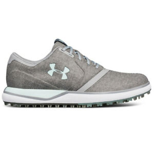 NEW Womens Under Armour Performance SL Sunbrella Golf Shoes Grey Mint Pick Size $39.99