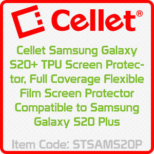 Samsung Galaxy S20 TPU Full age Flexible Film Compatible to Galaxy S20 Plus