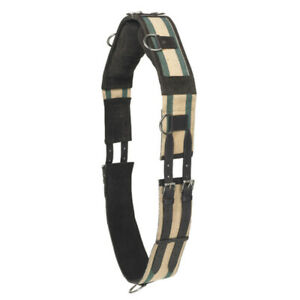 Pony Camelot Web 8 Ring Training Horse Surcingle Brown U PONY $85.95
