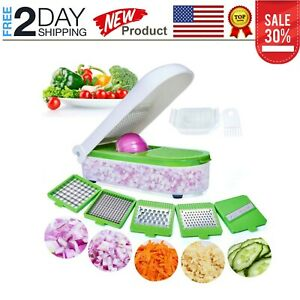 Vegetable Chopper Pro Onion Chopper Slicer Dicer Cutter Cheese & Veggie Chopper