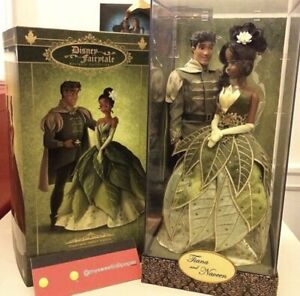 Disney Fairytale Designer Doll Collection Tiana And Prince Neveen $150.00
