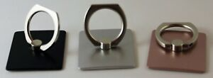 Universal 360 Rotating Metal Finger Ring Stand Holder For All Cell Phones Square $3.99