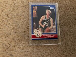 STAR 84 LARRY BIRD MVP CARD
