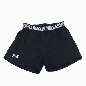 New Under Armour Little Girls Shorts Size 4,5,6 Black MSRP $17.99 $13.57