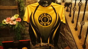 Golds Gym Mens Shirt Top Yellow Gold Size XL Extra Large Weightlifting Work $27.97
