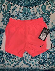 Nike Dri Fit Girls Summer Racer Pink Shorts Size 6X MSRP $20 $10.97