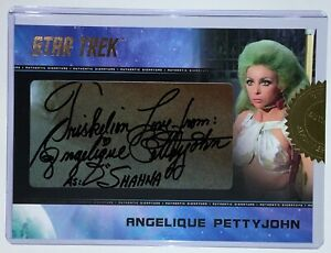 Rittenhouse Star Trek Archives & Inscriptions Angelique Pettyjohn Autograph Cut