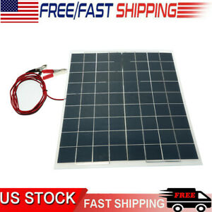 WHOLESALE LOT 60W 12V Semi Flexible Solar Panel Device Battery Charger Equipment