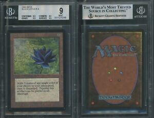 MTG Magic Beta Black Lotus BGS 9B+++ GEM MINT (TCC)