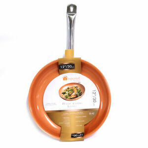Imperial Home 12-inch Copper Non-Stick Fry Pan
