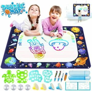 Educational Toys Water Drawing Mat for toddler kids 2 3 4 5 6 8 10 Year old