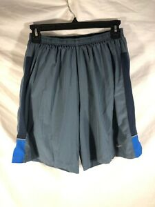 Nike Mens Running Shorts Gray With Built In Compression Shorts Size Medium $20.00