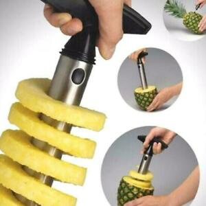 Pineapple Peeler Corer Slicer Cutter Remover heart extractor Stainless