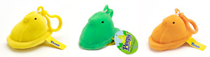 Peeps Chick Backpack Clip NWT Yellow Green Orange You Choose