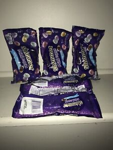 Lot of 5 - 9oz Bags Cadbury Easter Milk Chocolate Shimmer Mini Eggs
