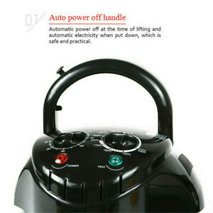 17QT Large Capacity Air Fryer Oven w 11 Accessories Timer 8 Way Oil-Less Cooking