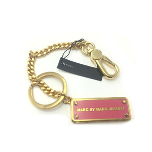 MARC BY MARC JACOBS key ring Pink design Keychain