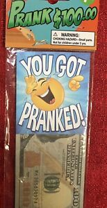 10 Count Fake 100 Hundred US Dollar Bill 1:1 Size Prank Fun Party Novelty Gift