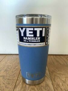 NEW Yeti Rambler 20 oz Pacific Blue Tumbler with MagSlider Lid