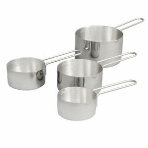 Vollrath 47119 4 Piece Measuring Cup Set - 18 ga Stainless