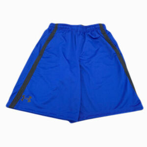 New Under Armour Mens Gym Loose Athletic HeatGear Mesh Shorts Size Med Large $18.80