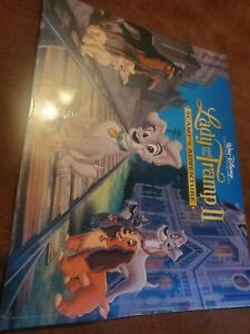 Lady and the tramp 2 scamp#x27;s adventure exclusive lithograph portfolio $10.00