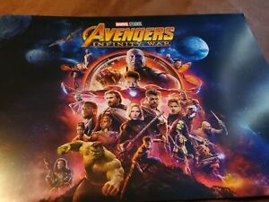 Avengers: Infinity War 4-Lithograph Set (Disney Store Exclusive) $25.00