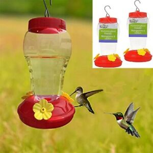 TWO (2) QUALITY HUMMINGBIRD FEEDER GARDEN COLLECTION - FAST FREE SHIPPING USA!!!
