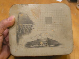 Antique Lithographic Stone Printing Block Louis Porter Co Warner amp; Moore Ford $149.99