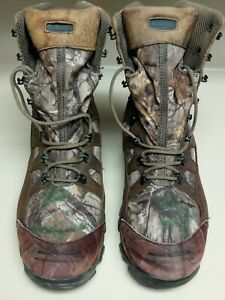 Wolverine Mens Gore Tex Hunting Work Boots Camouflage Leather Thinsulate  Sz 12M