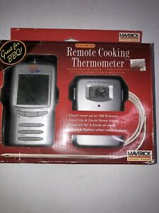 NEW Maverick Remote Wireless Cooking Meat Thermometer ET72 Redi Remote