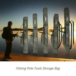 Multi-purpose Carrier Canvas Fishing Pole Lure Tools Storage Bag Case