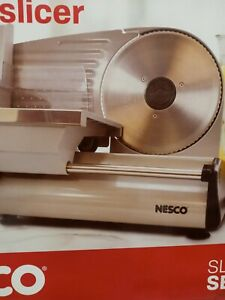 Nesco Electric Cheese Cutter Food Meat Slicer 7.5 inch Blade Bread Slicing Home