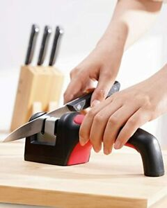 Knife Sharpener Roller Grinding Groove for Dull Steel,Paring,Chefs,Pocket Knives