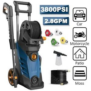 3800PSI 2.80GPM Electric Pressure Washer High Power Cold Water Cleaner Machine $159.99