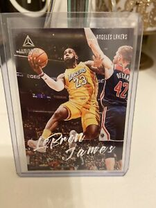 2019 20 Panini Chronicles LeBron James Luminance #162 Lakers