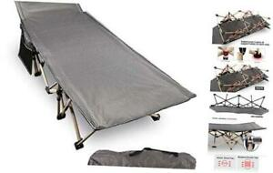 REDCAMP Folding Camping Cots for Adults 500lbs Double Layer Oxford Strong Heavy