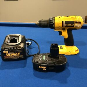 Dewalt Drill Battery And Charger DC907 DW9116 Tested Working. $69.95