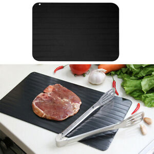 Quick Defrost Tray Rapid Thaw Plate Board for Defrosting Meat Frozen Steak Food