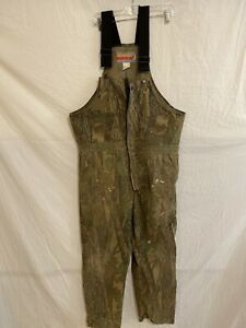 Mens Winchester Camo Camouflage Hunting Overalls Size XL R
