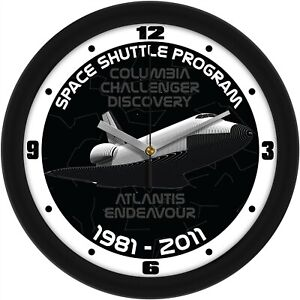 US Space Shuttle Program Commemorative 11.5quot; Wall Clock by Suntime $27.95