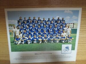 VINTAGE DALLAS COWBOYS 8X10 TEAM PHOTO FOOTBALL NFL PICTURE Tom Landry Don Mered $12.00