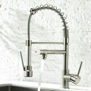 Aimadi Kitchen Sink Faucet Stainless Steel with Pull Down Sprayer Single Handle