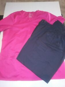 Womens scrub sets size XL